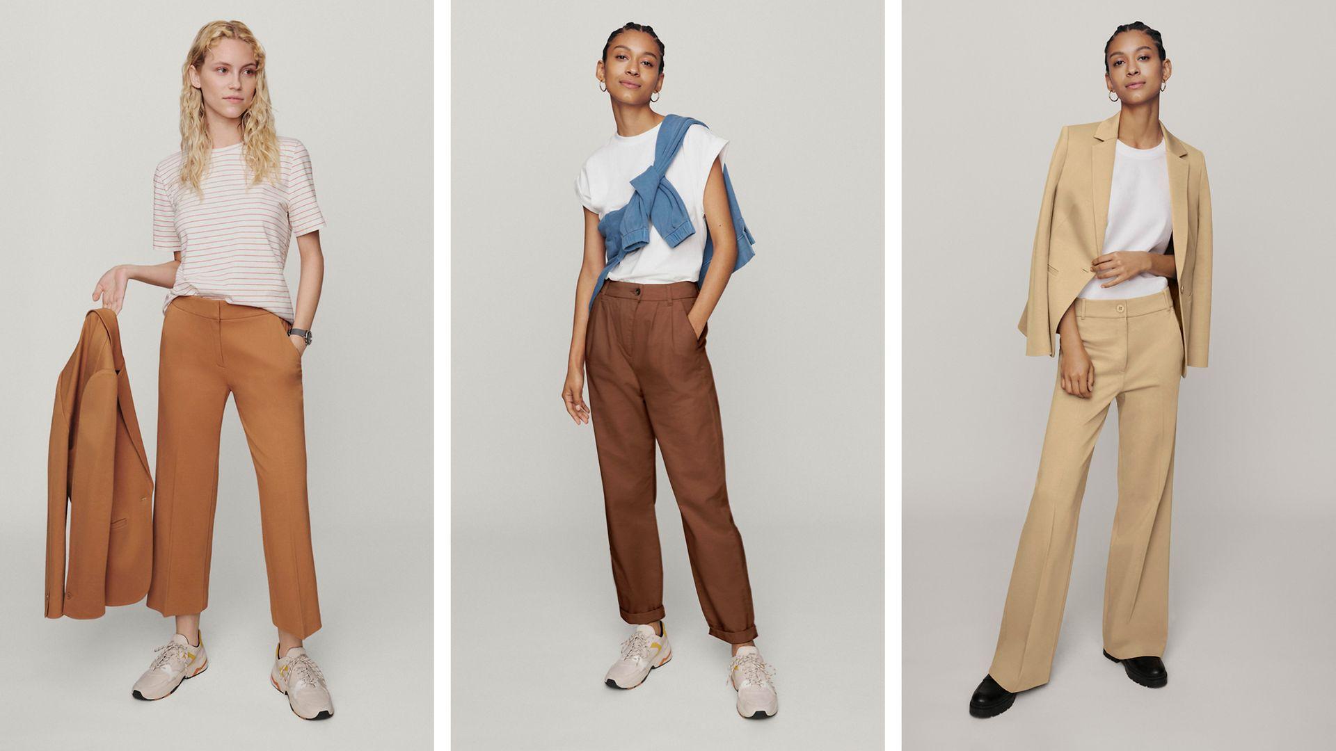 072021 - Women - Inspiration - Lookbook - Pantalons tout simplement idéals - Hero Large 1 IMG