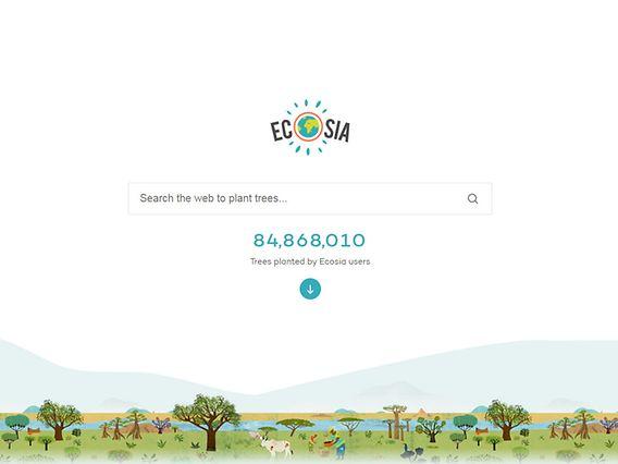 Sustainable Blog Ecosia